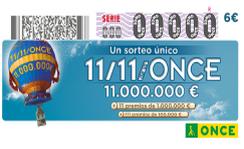 sorteo 11-11 once 2014